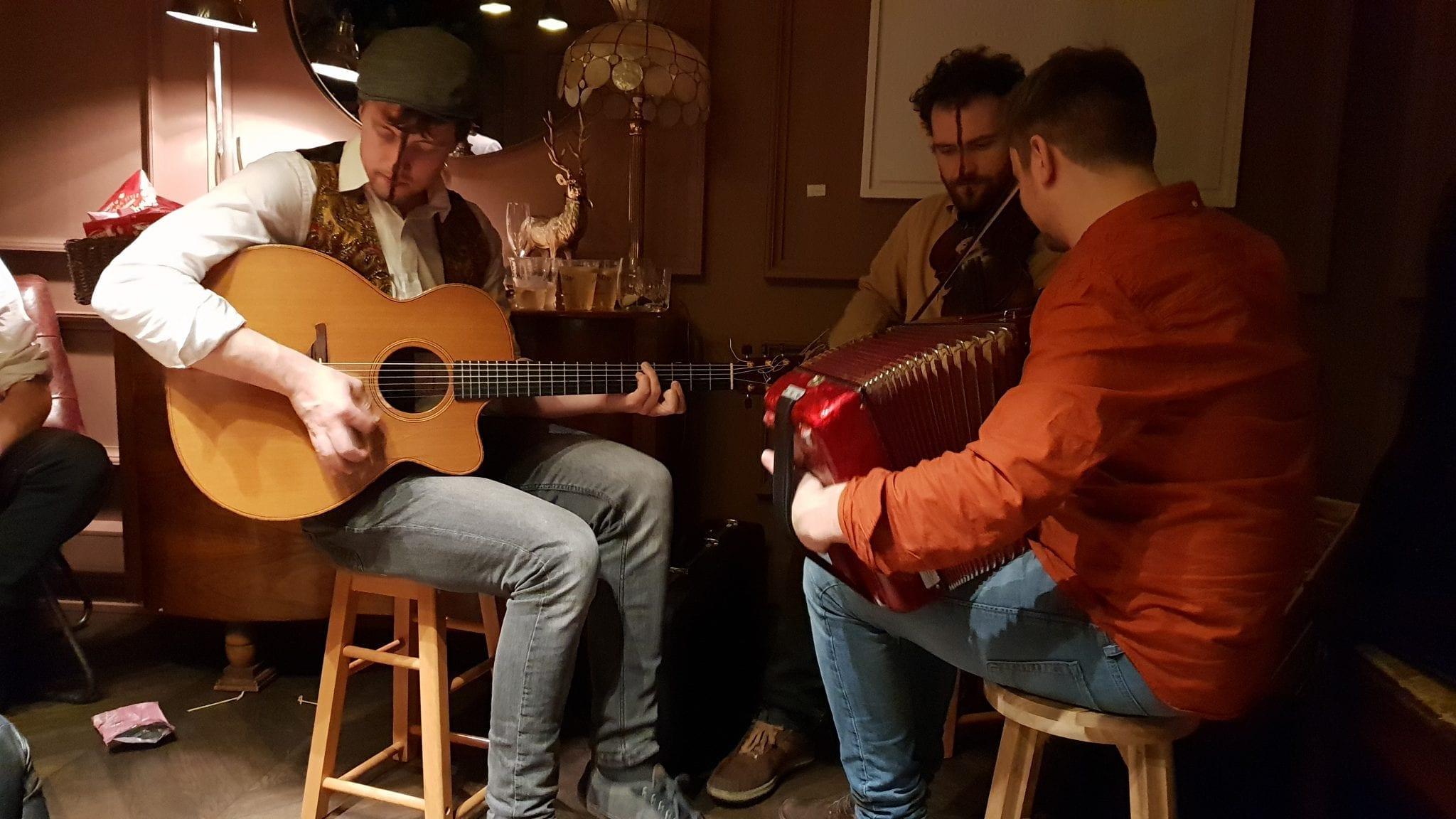Joe Junker, Lorcan Brady, Liam King