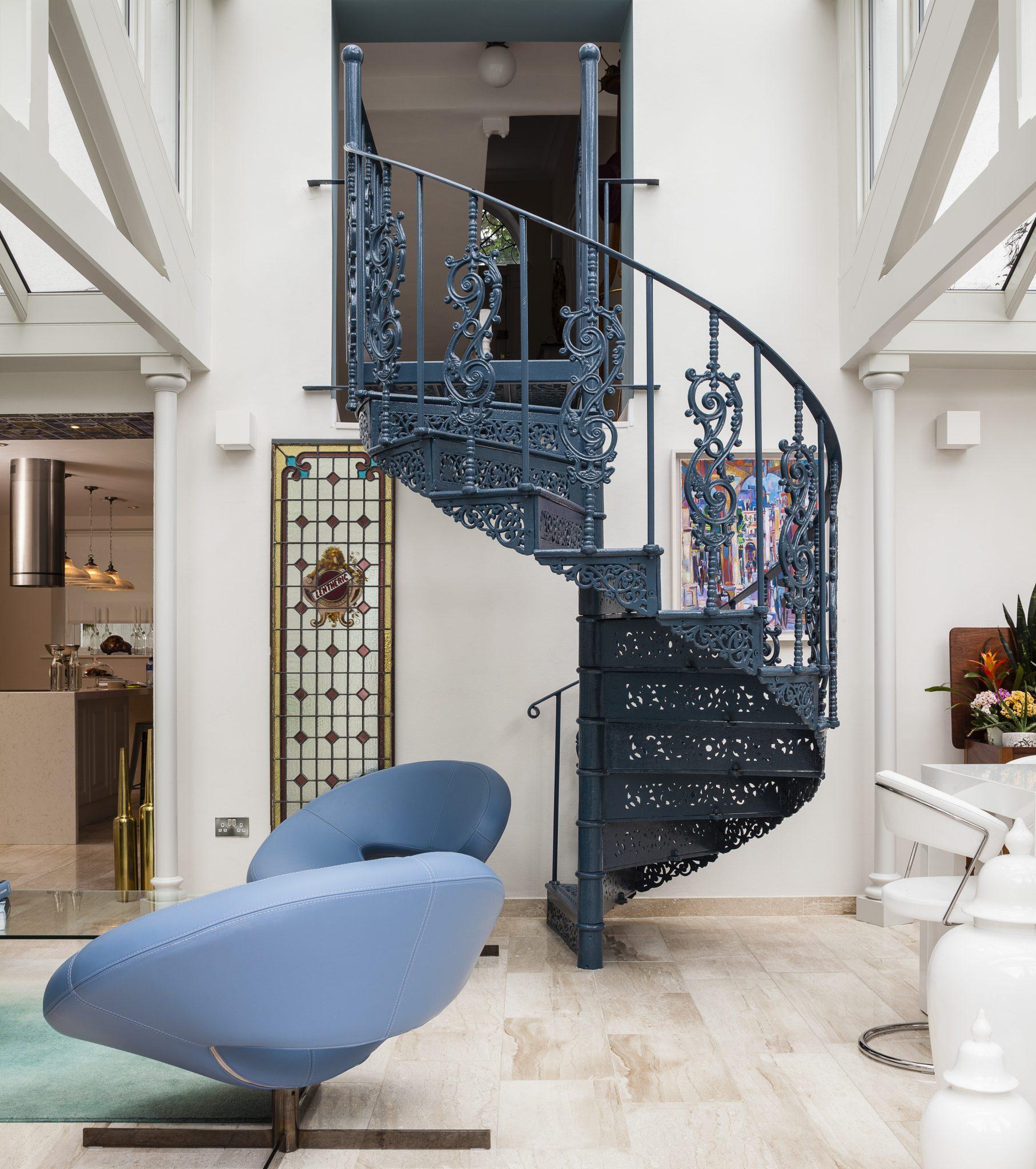 Iron Stairwell
