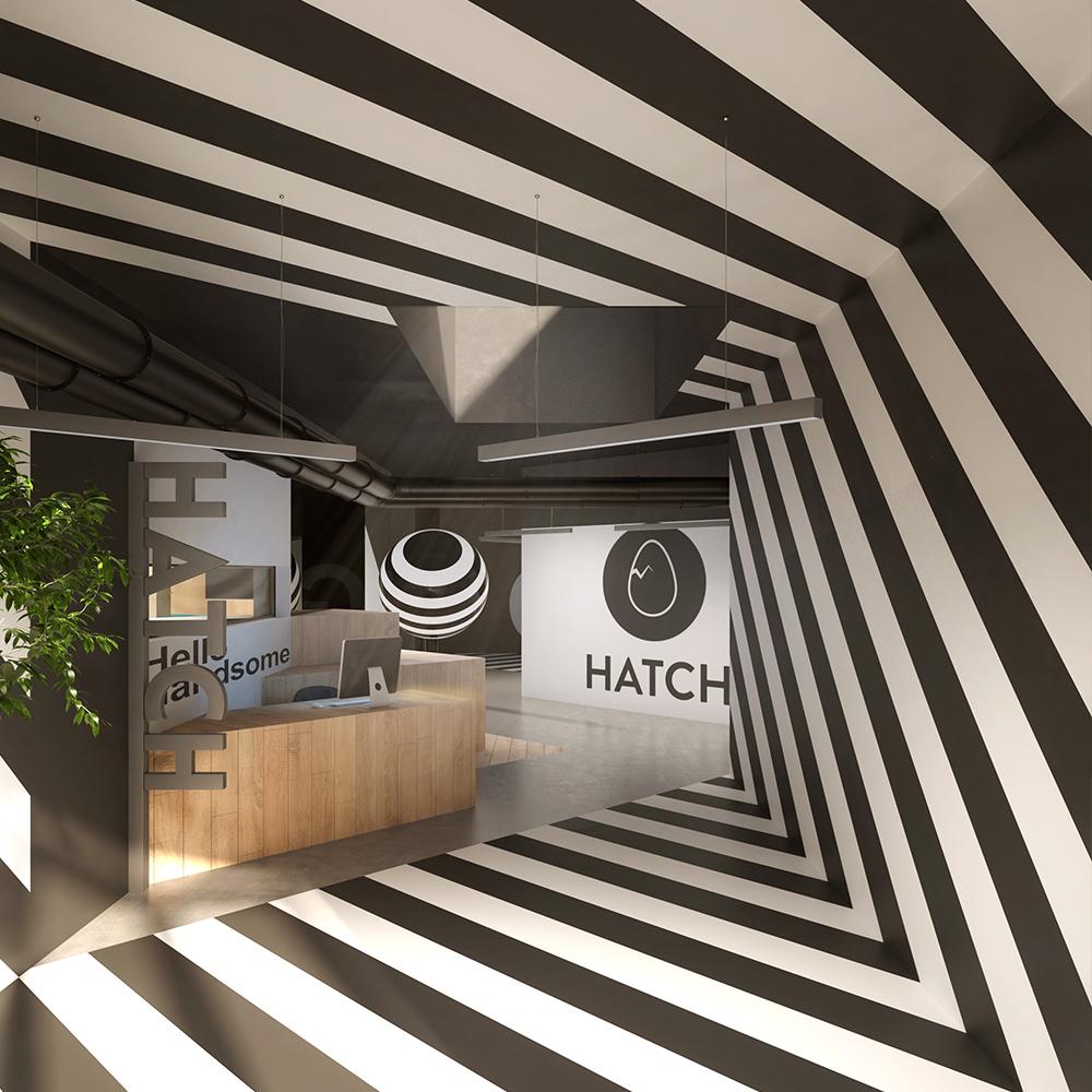 Hatch entrance