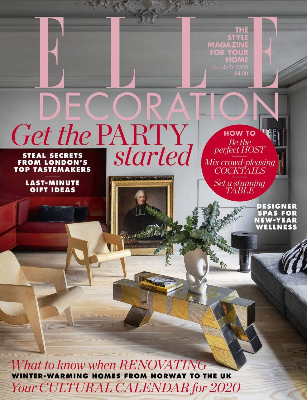 Elle Decoration UK Cover
