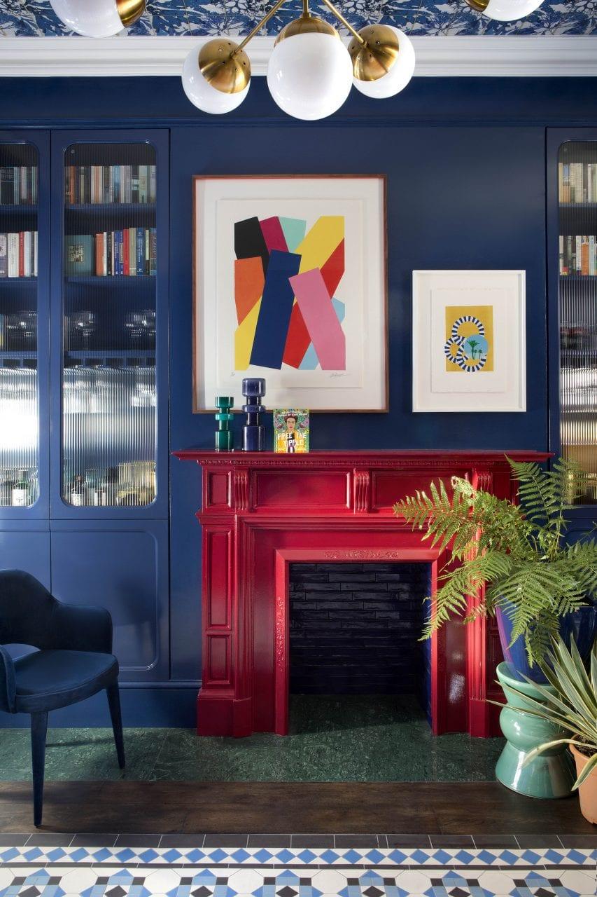 Donnybrook Residence fireplace kld